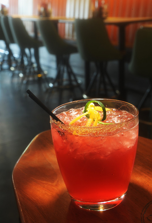 . The  acai punch margarita at the El Camino Community Tavern 3628 W. 32nd Ave in the Denver Highlands  on Wednesday,  April 25, 2012.  Cyrus McCrimmon, The  Denver Post