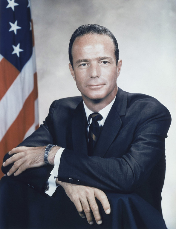 . U.S. Astronaut Malcolm Scott Carpenter in 1960. (AP Photo)