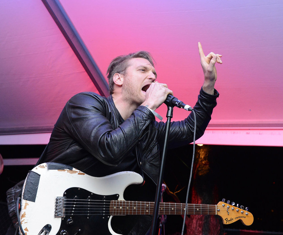 . Jonnie Russell of Cold War Kids performs at the Normaltown Showcase during the 2013 SXSW Music, FIlm + Interactive Festival at the Velveeta Room on March 13, 2013 in Austin, Texas.  (Photo by Michael Buckner/Getty Images)