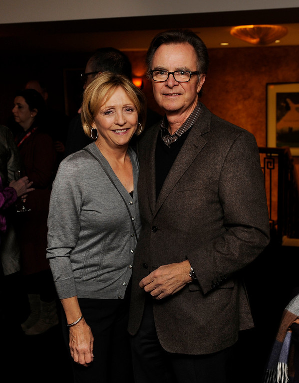 . DENVER, CO. - NOVEMBER 6: Bob Clasen and his wife Liane posed for a photo as the 36th Starz Film Festival opened Wednesday night, November 6, 2013 with a showing of the movie Labor Day. Photo By Karl Gehring/The Denver Post