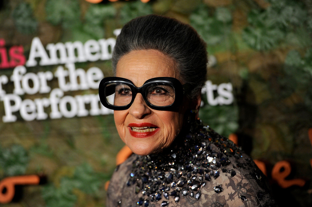 . Joy Venturini Bianchi arrives at the Wallis Annenberg Center for the Performing Arts Inaugural Gala on Thursday, Oct. 17, 2013, in Beverly Hills, Calif. (Photo by Chris Pizzello/Invision/AP)