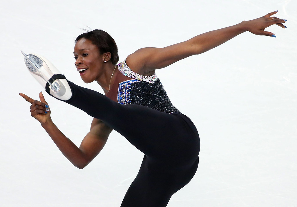 . Mae Berenice Meite of France performs in the Figure Skating Women\'s Free Skating event at Iceberg Skating Palace during the Sochi 2014 Olympic Games, Sochi, Russia, 20 February 2014.  EPA/BARBARA WALTON