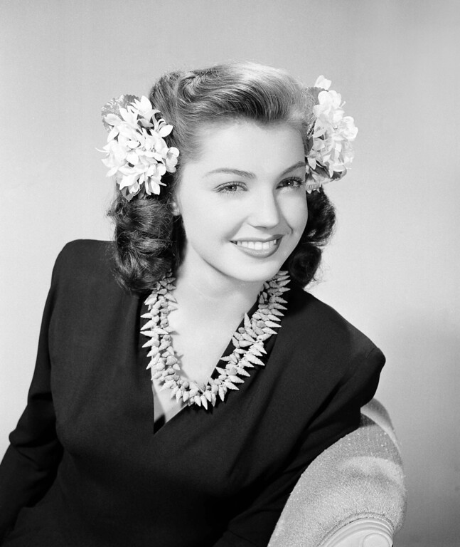 . Esther Williams is shown in Hollywood, July 13, 1943. (AP Photo)