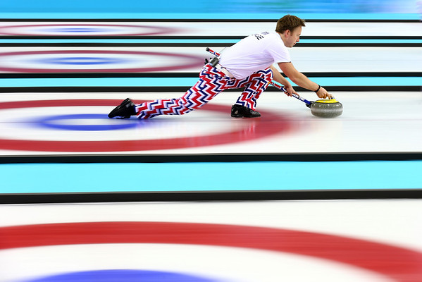 PHOTOS: Men's and Women's Curling at Sochi 2014 Winter Olympics – Feb. 16