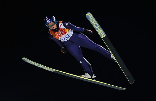 PHOTOS: Women's ski jumping at Sochi 2014 Winter Olympics