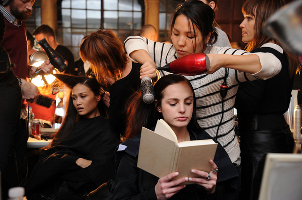 PHOTOS: Backstage at Mercedes-Benz Fashion Week, New York City