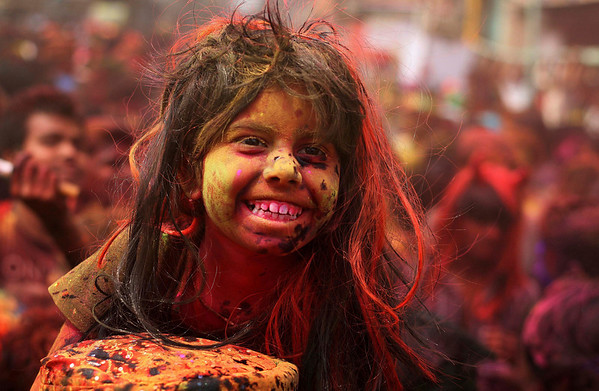 PHOTOS: Holi – Festival of Colors in India