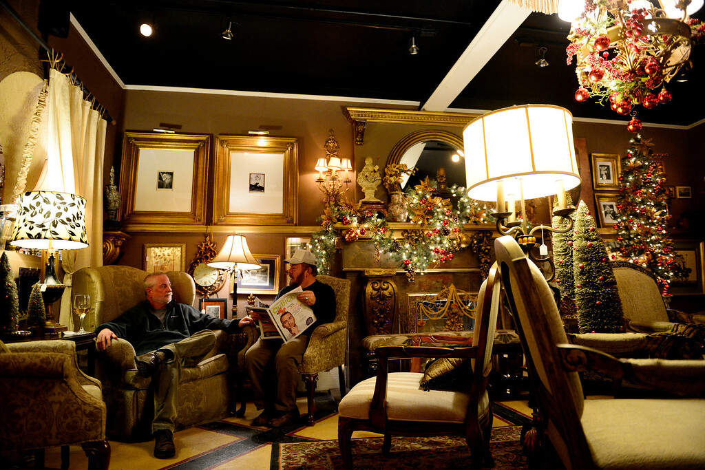 . Happy Hour at Black Crown Lounge on Sunday, November 25, 2012. AAron Ontiveroz, The Denver Post
