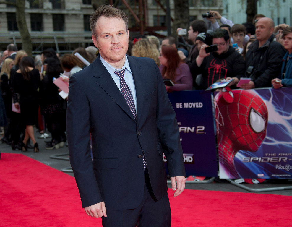 . Director Marc Webb arrives for the World premiere of The Amazing Spiderman 2, at a central London cinema in Leicester Square, Thursday, April 10, 2014. (Photo by Joel Ryan/Invision/AP)