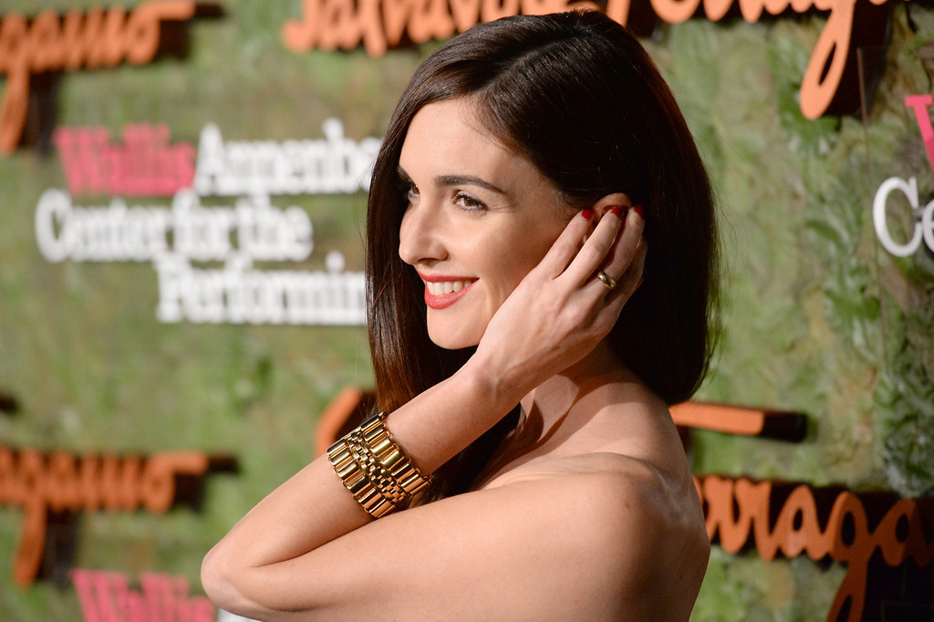 . Actress Paz Vega arrives at the Wallis Annenberg Center for the Performing Arts Inaugural Gala presented by Salvatore Ferragamo at the Wallis Annenberg Center for the Performing Arts on October 17, 2013 in Beverly Hills, California.  (Photo by Jason Merritt/Getty Images for Wallis Annenberg Center for the Performing Arts)