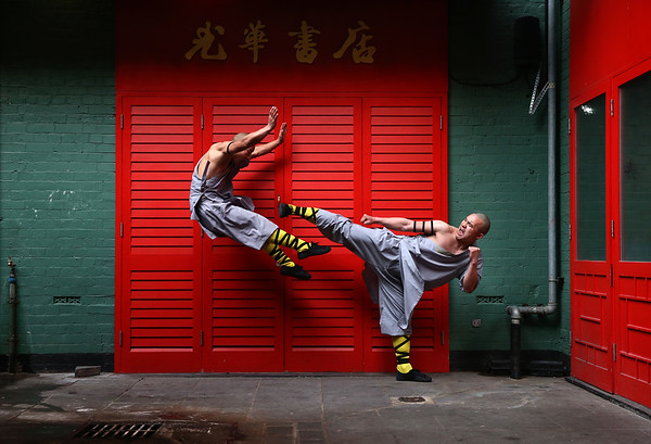 PHOTOS: Kung Fu portrait session!
