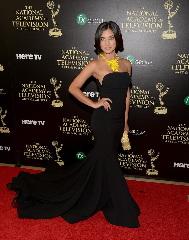 . Actress Camila Banus attends The 41st Annual Daytime Emmy Awards at The Beverly Hilton Hotel on June 22, 2014 in Beverly Hills, California.  (Photo by Jason Kempin/Getty Images)