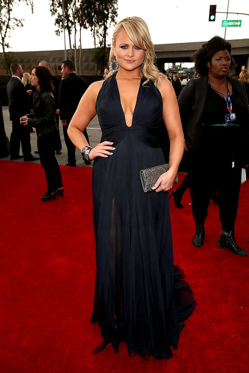 . Miranda Lambert the 55th Annual GRAMMY Awards on February 10, 2013 in Los Angeles, California.  (Photo by Christopher Polk/Getty Images for NARAS)