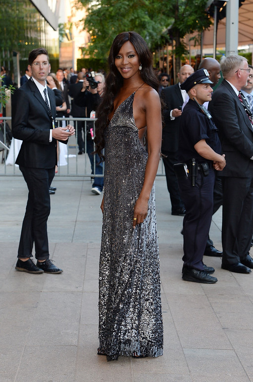 . Model Naomi Campbell attends the 2014 CFDA fashion awards at Alice Tully Hall, Lincoln Center on June 2, 2014 in New York City.  (Photo by Mike Coppola/Getty Images)