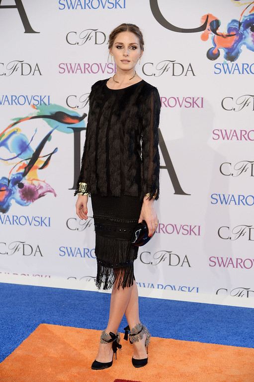 . Olivia Palermo attends the 2014 CFDA fashion awards at Alice Tully Hall, Lincoln Center on June 2, 2014 in New York City.  (Photo by Dimitrios Kambouris/Getty Images)
