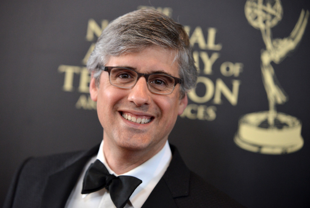 . Mo Rocca arrives at the 41st annual Daytime Emmy Awards at the Beverly Hilton Hotel on Sunday, June 22, 2014, in Beverly Hills, Calif. (Photo by Richard Shotwell/Invision/AP)