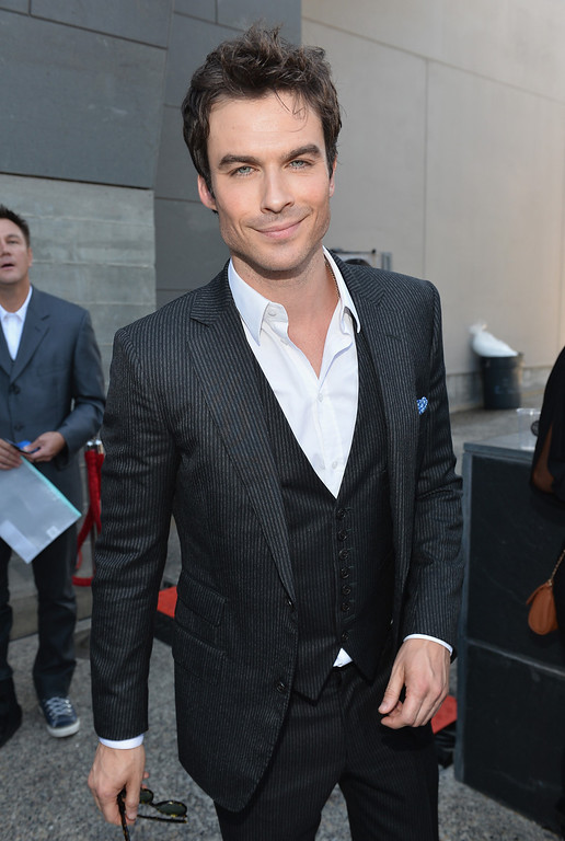 . Actor Ian Somerhalder attends CW Network\'s 2013 Young Hollywood Awards presented by Crest 3D White and SodaStream held at The Broad Stage on August 1, 2013 in Santa Monica, California.  (Photo by Alberto E. Rodriguez/Getty Images for PMC)