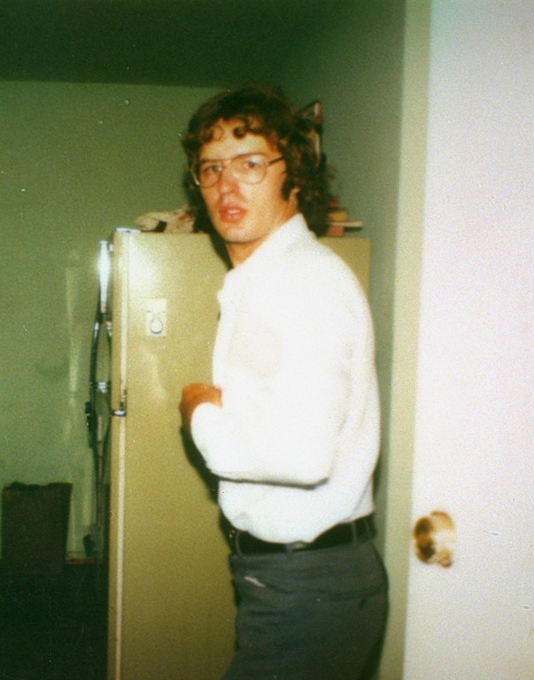 . This is a 1981 photo of David Koresh taken at the Mount Carmel compound of the Branch Davidians cult near Waco, Texas.  Koresh, the leader of the cult who claims to be Christ, and his followers, were involved in a standoff with police at the compound in 1993.  (AP Photo)