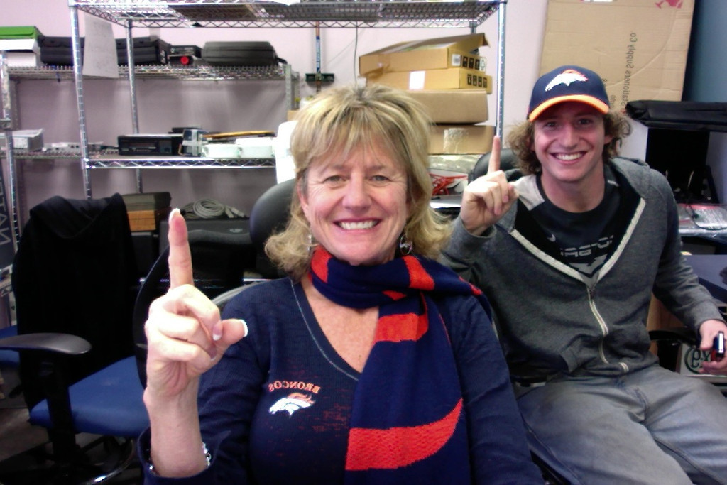 . Go Broncos from Urban Mining Squared!