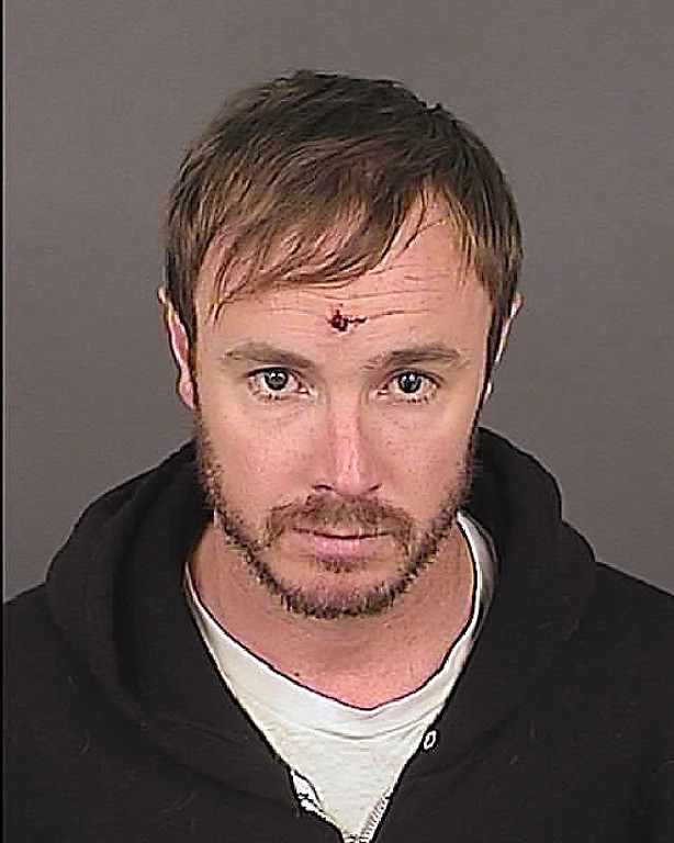 . Eddie Ray Fisher, 38, is seen in a May 15, 2012 booking photo provided by the Denver Police Department. Fisher was arrested in Denver early Tuesday morning, May 15, 2012 on suspicion of assault, destruction of private property and disturbing the peace. According KMGH-TV in Denver, Fisher was the drummer for OneRepublic band. (AP Photo/Denver Police)