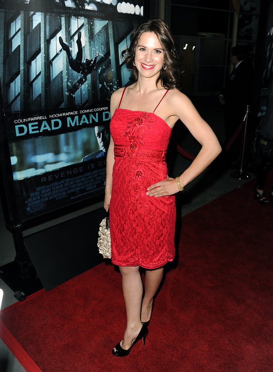 ". Actress Beata Dalton arrives to the premiere of FilmDistricts\'s ""Dead Man Down\"" at ArcLight Hollywood on February 26, 2013 in Hollywood, California.  (Photo by Kevin Winter/Getty Images)"