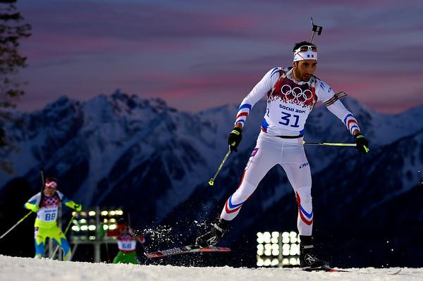 PHOTOS: Men's Individual 20km Biathlon At Sochi 2014 Winter Olympics