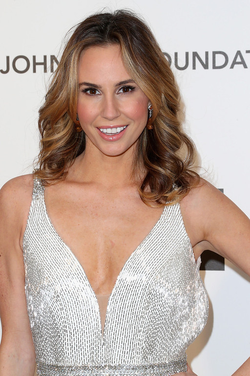 . TV personality Keltie Colleen arrives at the 21st Annual Elton John AIDS Foundation\'s Oscar Viewing Party on February 24, 2013 in Los Angeles, California.  (Photo by Frederick M. Brown/Getty Images)