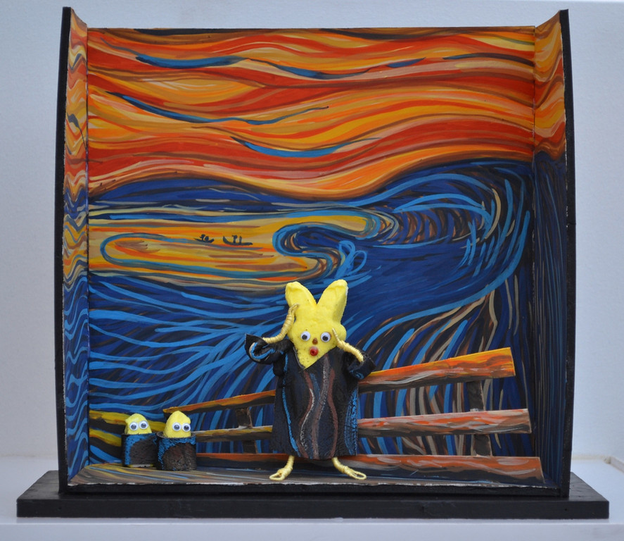 . The Screep by Edveep Munch. Amy Zschaber