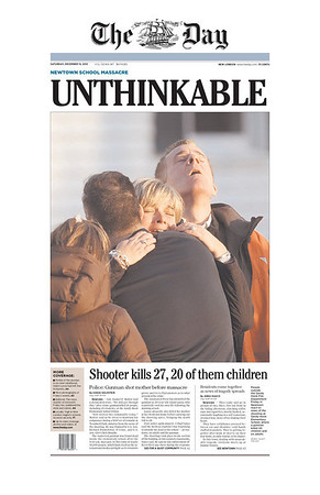 Connecticut shooting: newspaper front pages from around the world