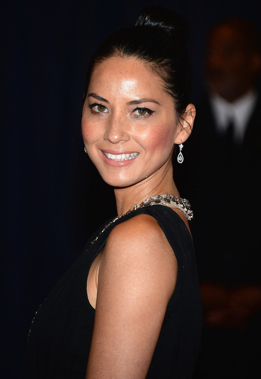 . WASHINGTON, DC - APRIL 27:  Actress Olivia Munn attends the White House Correspondents\' Association Dinner at the Washington Hilton on April 27, 2013 in Washington, DC.  (Photo by Dimitrios Kambouris/Getty Images)