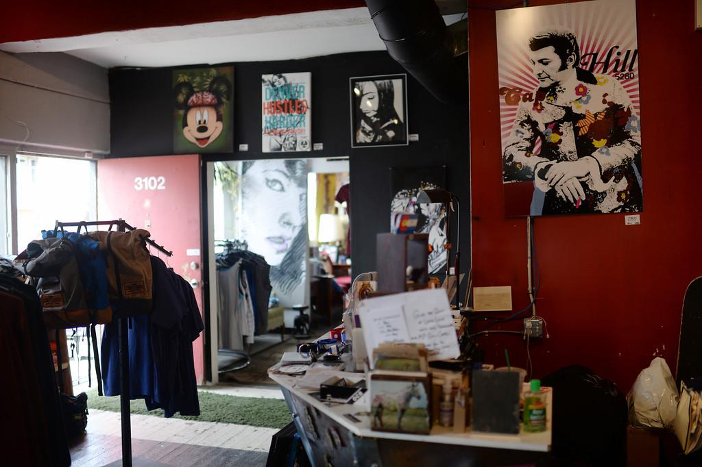 . DENVER MARCH 26: Hipster boutique Megafauna. Denver, Colorado March 26, 2014. (Photo by Hyoung Chang/The Denver Post)