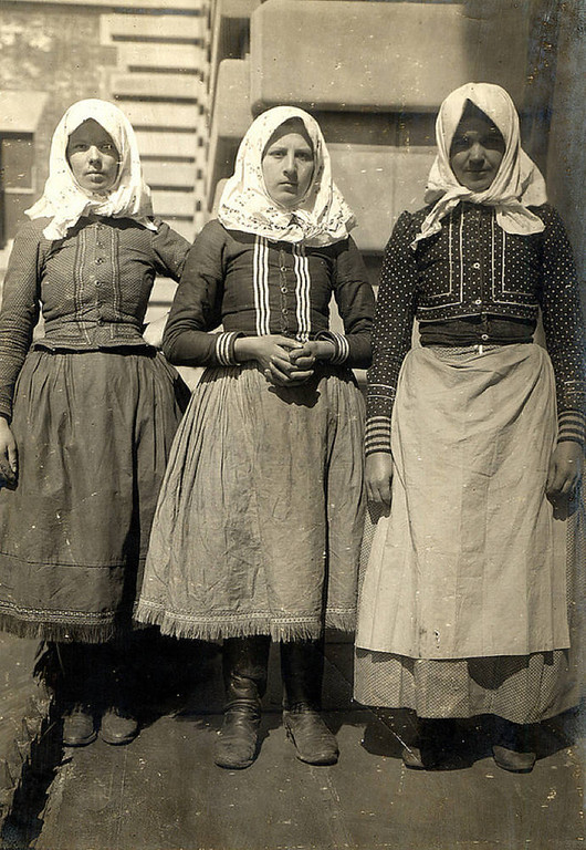 . Three young women from Slovakia. (NPS photo)