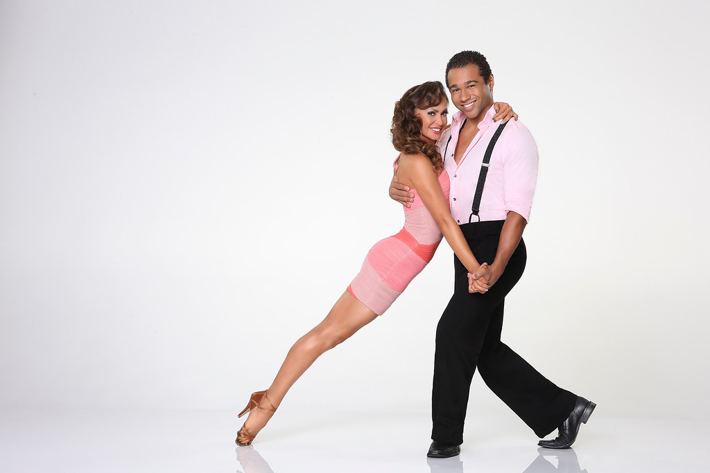 ". DANCING WITH THE STARS - KARINA SMIRNOFF & CORBIN BLEU - Corbin Bleu partners with Karina Smirnoff. ""Dancing with the Stars\"" returns for Season 17 on MONDAY, SEPTEMBER 16 (8:00-10:01 p.m., ET), on the ABC Television Network. (ABC/Craig Sjodin)"