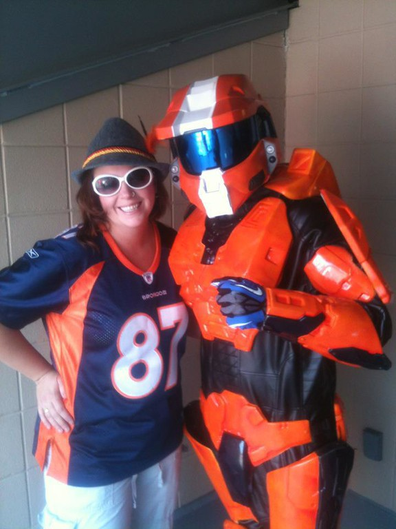 . Added to my Collection of me and Famous Bronco Fans. Rochelle