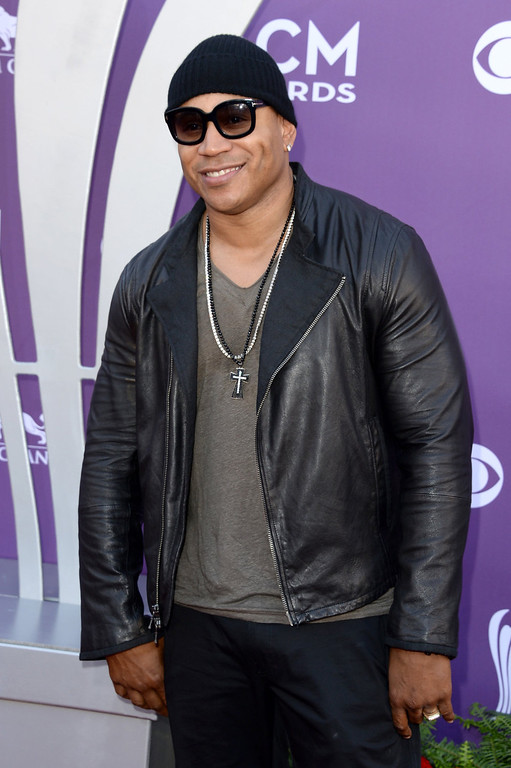 . Rapper/actor LL Cool J arrives at the 48th Annual Academy of Country Music Awards at the MGM Grand Garden Arena on April 7, 2013 in Las Vegas, Nevada.  (Photo by Jason Merritt/Getty Images)
