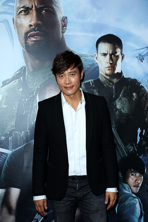 ". Byung-Hun Lee arrives at the ""G.I.Joe: Retaliation\"" - Australian Premiere at Event Cinemas George Street on March 14, 2013 in Sydney, Australia.  (Photo by Lisa Maree Williams/Getty Images)"