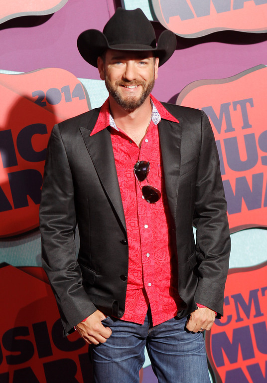 . Craig Campbell arrives at the CMT Music Awards at Bridgestone Arena on Wednesday, June 4, 2014, in Nashville, Tenn. (Photo by Wade Payne/Invision/AP)