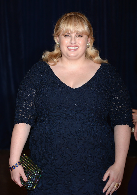 . WASHINGTON, DC - APRIL 27:  Actress Rebel Wilson attends the White House Correspondents\' Association Dinner at the Washington Hilton on April 27, 2013 in Washington, DC.  (Photo by Dimitrios Kambouris/Getty Images)
