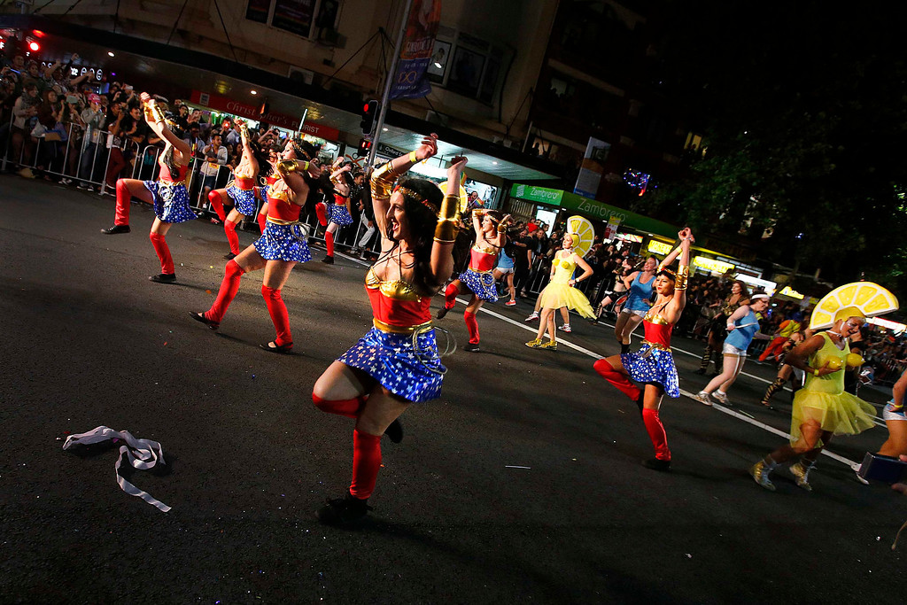 . Participants march in the 35th annual Sydney Gay and Lesbian Mardi Gras parade March 2, 2013.  REUTERS/Tim Wimborne