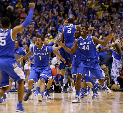 PHOTOS: Michigan vs. Kentucky, 2014 NCAA Men's Basketball Tournament