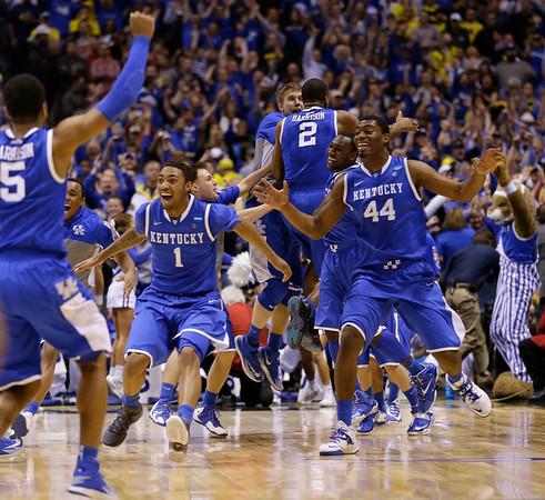 PHOTOS: Michigan vs. Kentucky, 2014 NCAA Men's Basketball Tournament