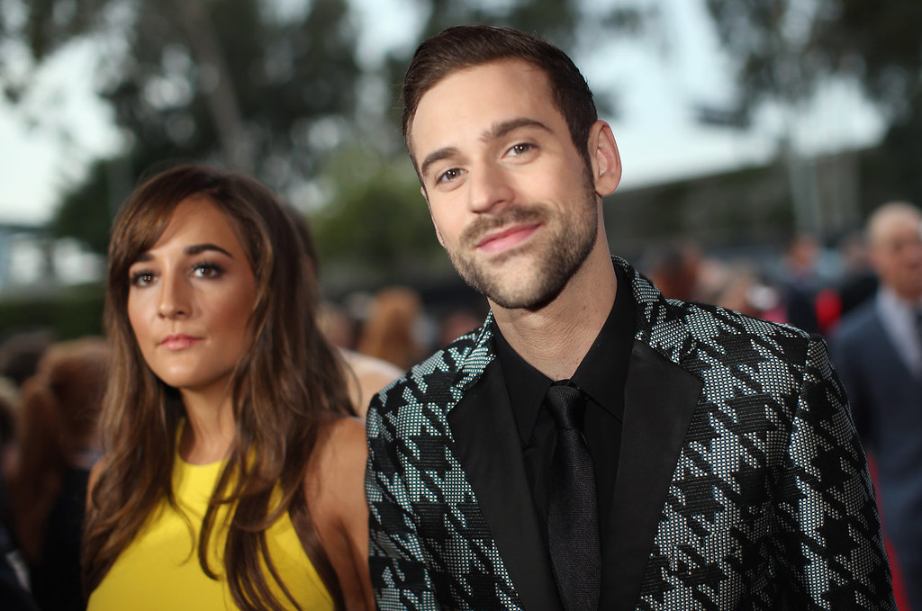 . Jackie Ganger and recording artist Ryan Lewis attend the 56th GRAMMY Awards at Staples Center on January 26, 2014 in Los Angeles, California.  (Photo by Christopher Polk/Getty Images for NARAS)