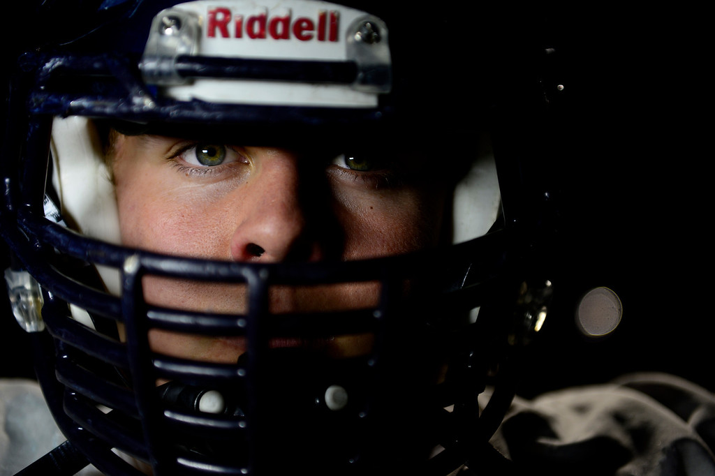 . Valor Christian left guard Ryan Cummings. Valor Christian\'s offensive line has dominated opponents this season. (Photo by AAron Ontiveroz/The Denver Post)