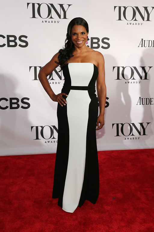 . Actress Audra McDonald attends The 67th Annual Tony Awards  at Radio City Music Hall on June 9, 2013 in New York City.  (Photo by Neilson Barnard/Getty Images)