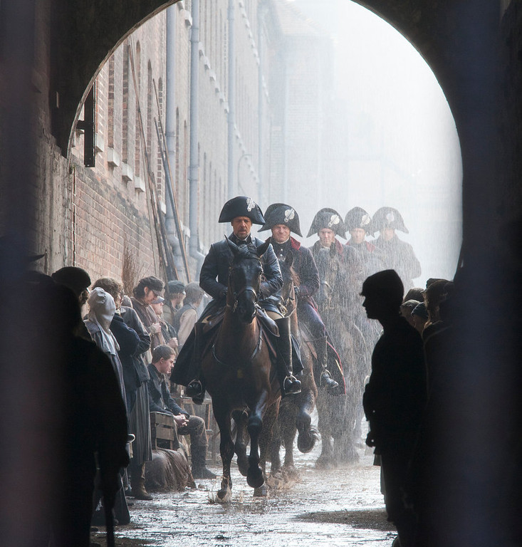 ". A scene from director Tom Hooper\'s adaptation of the musical ""Les Mis�rables.\"" Provide by Universal Pictures"