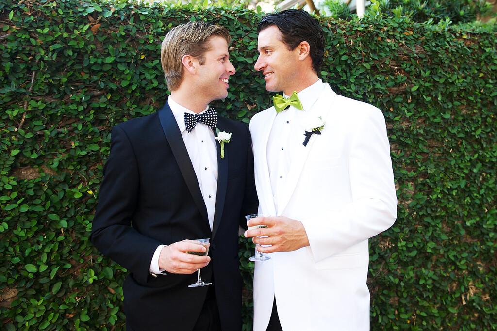 """. NEWLYWEDS: THE FIRST YEAR -- \""""Blair Late/Jeff Pederson Wedding\"""" -- Pictured: (l-r) Blair Late, Jeff Pederson -- (Photo by: Donna Von Bruening/Bravo)"""