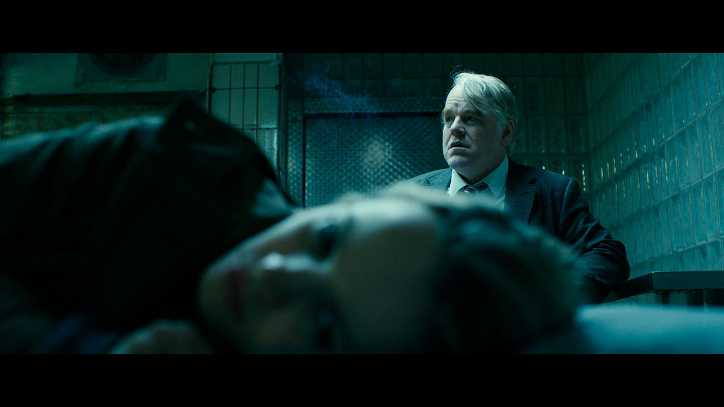 ". This photo provided by the Sundance Institute shows Philip Seymour Hoffman, right, and Rachel McAdams, front, in a scene from the film, ""A Most Wanted Man,\"" which premiered at the 2014 Sundance Film Festival. After appearing in over 50 movies, 46-year-old Hoffman said working on \'A Most Wanted Man\' was one of the most satisfying movie-making experiences he\'s had. (AP Photo/Sundance Institute)"