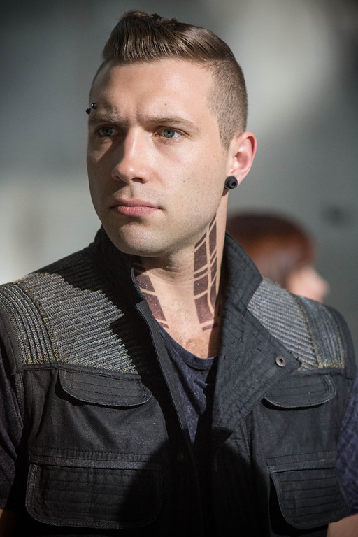 . JAI COURTNEY stars in DIVERGENT
