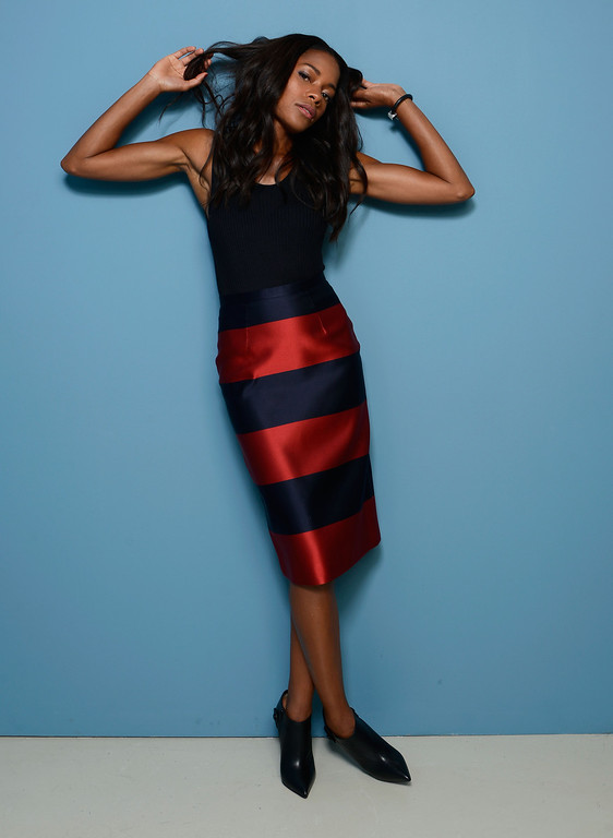 . Actress Naomie Harris of \'Mandela: Long Walk to Freedom\' poses at the Guess Portrait Studio during 2013 Toronto International Film Festival on September 8, 2013 in Toronto, Canada.  (Photo by Larry Busacca/Getty Images)