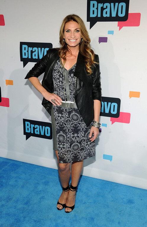 . Heather Thomson attends the 2013 Bravo New York Upfront at Pillars 37 Studios on April 3, 2013 in New York City.  (Photo by Craig Barritt/Getty Images)